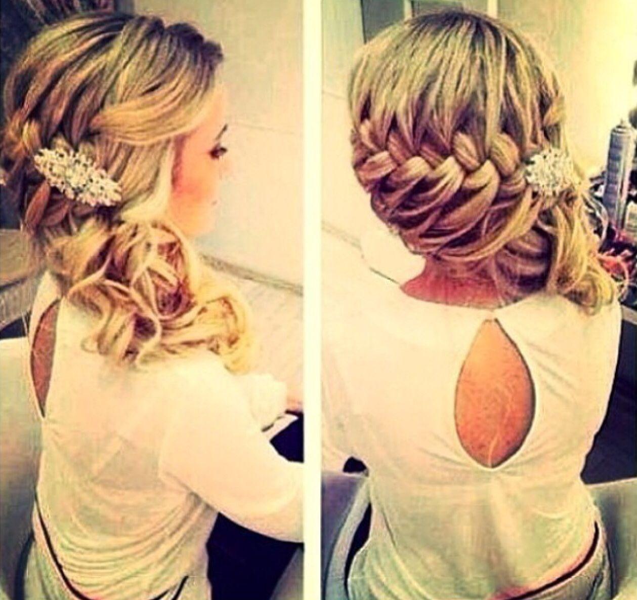 Elegant braid my new interest pinterest elegant hair style