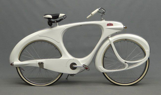 C 1990 S Reproduction Bowden Spacelander Bicycle White