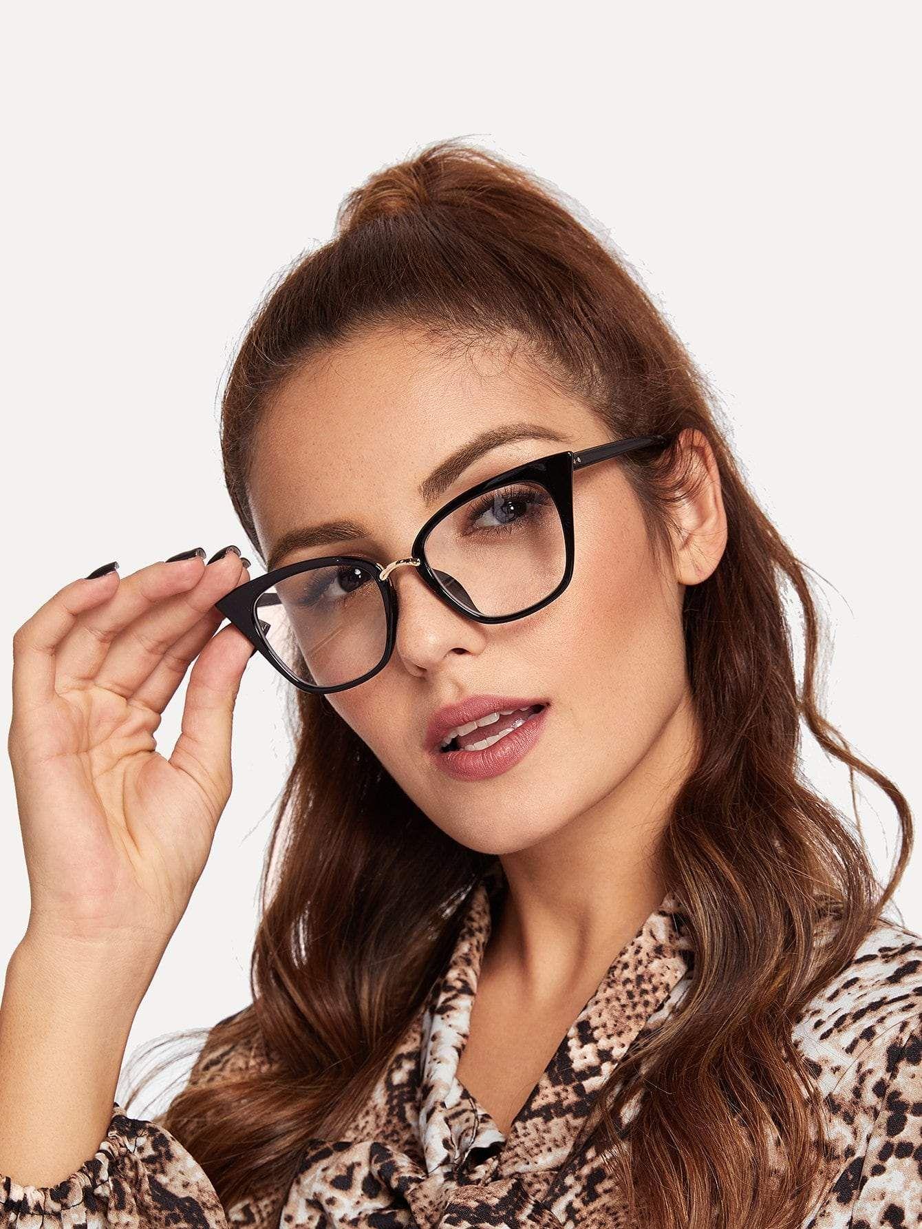 35f414ae8825 Cat Eye Glasses in 2019 | Sexy Ladies w Glasses | Eye glasses, Cat ...