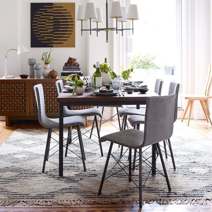 Nice Industrial Dining Table