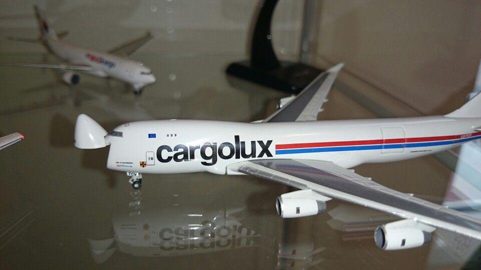 Cargolux Boeing 747 with open nose door (Herpa) & Cargolux Boeing 747 with open nose door (Herpa) | \u0027N\u0027 Trains ...