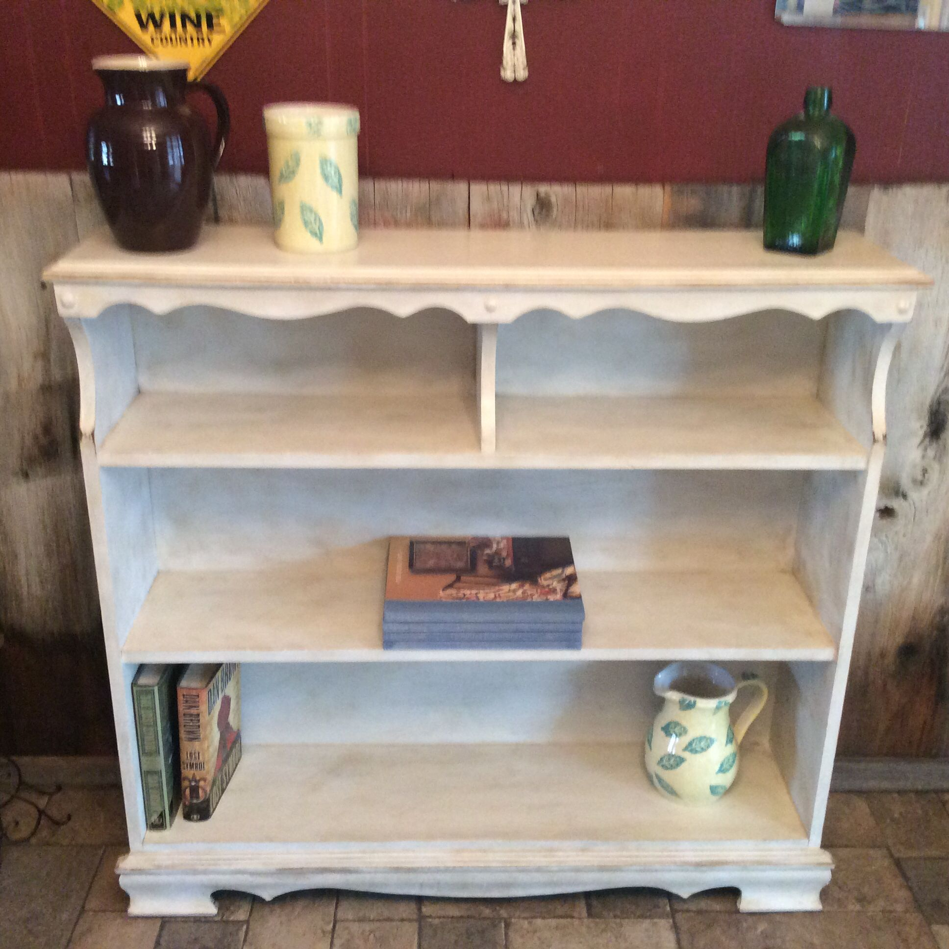 I Rescued This Solid Maple Bookcase And I Brought It Back To Life