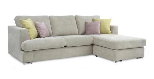 Astaire Right Hand Facing Arm Open End Corner Sofa Sherbet Dfs Grey Corner Sofa Sofa Deluxe Sofas