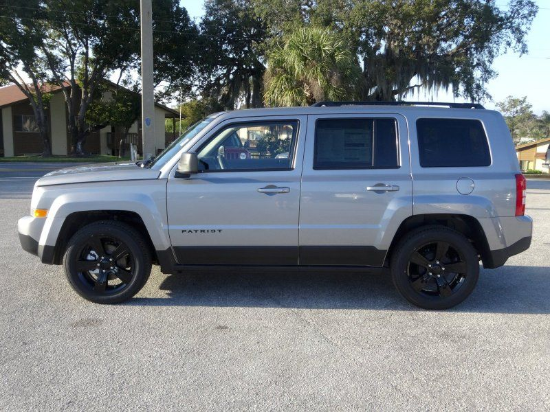 2014 Jeep Patriot Sport Billet Silver Jeep Patriot 2014 Jeep