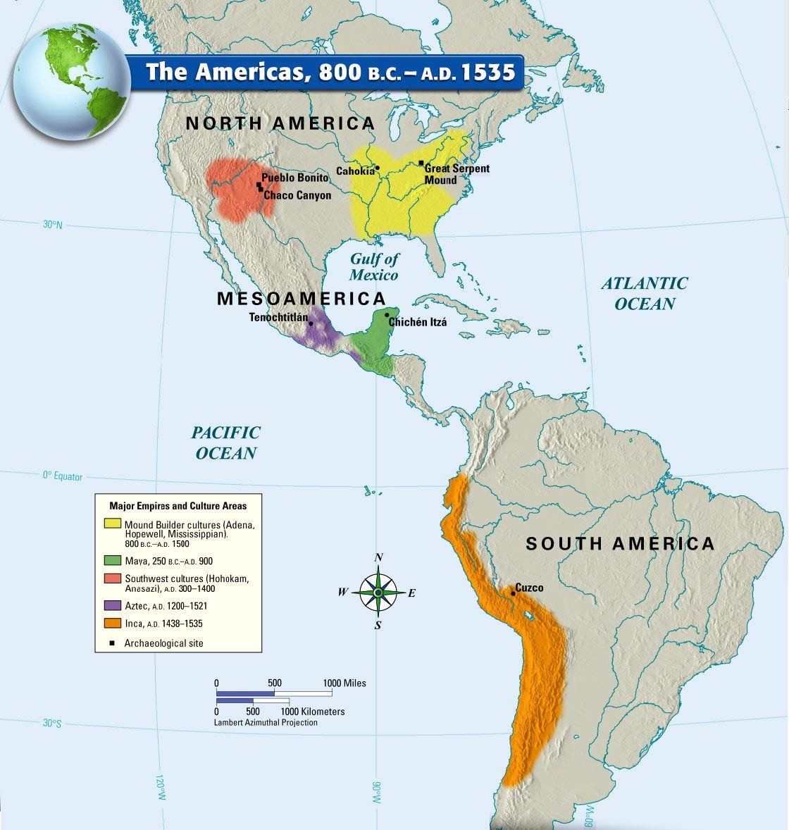 Aztec Maya And Inca