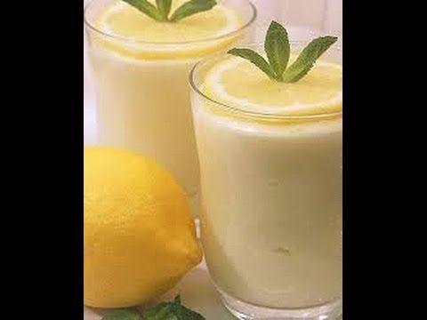 طريقة عمل عصير الليمون باللبن Glass Of Milk Food