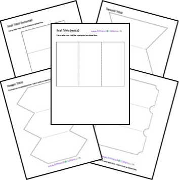 free printable and foldable lapbook let the creativity flow by