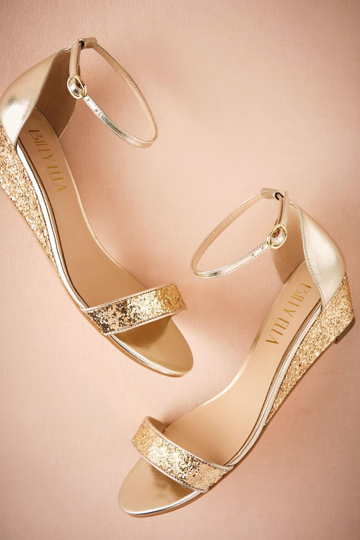 Cristal wedges wedge wedding shoes bride shoes wedding