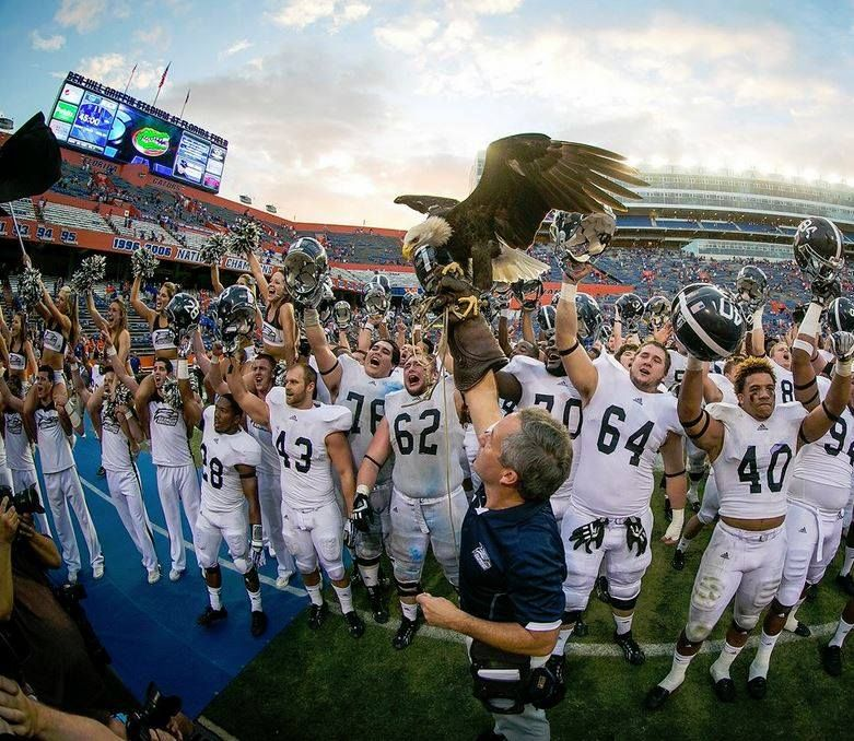 Best Day Ever To Be An Eagle The Georgia Southern Eagles Take Down The Florida Gators
