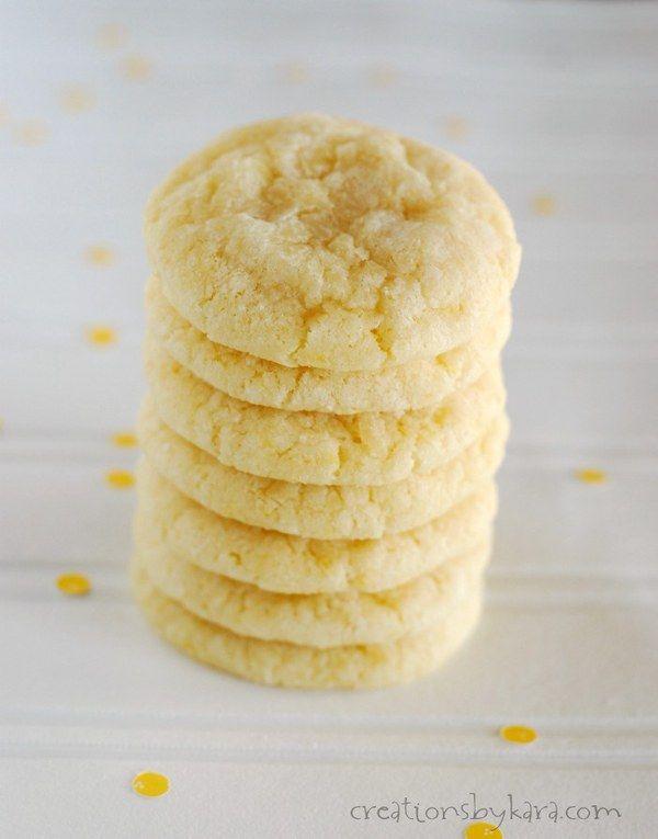 Award Winning Lemon Cookies