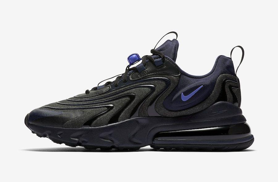 Nike Air Max 270 React ENG Black Sapphire CD0113 001 Release