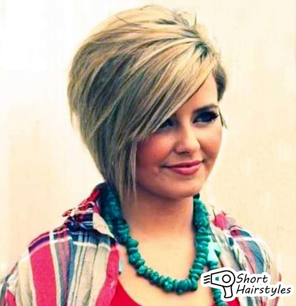 Short hairstyles for fine hair for round faces hair