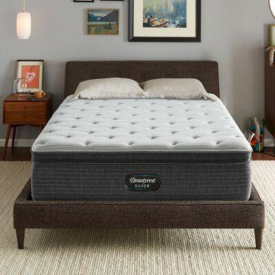 14.75 Medium Pillow Top Mattress Beautyrest Mattress Size: Queen