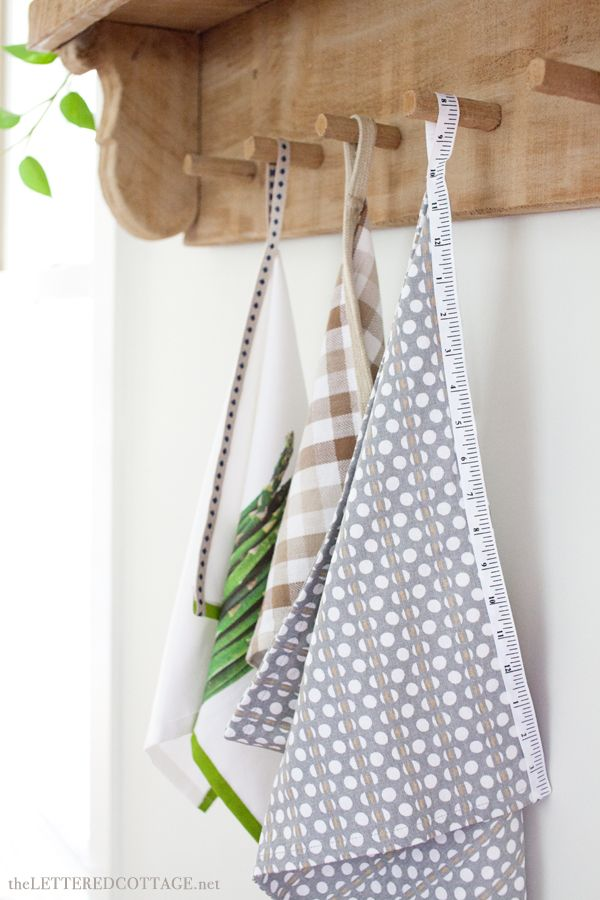 DIY Project: A Fun Way To Jazz Up Some Dish Towels