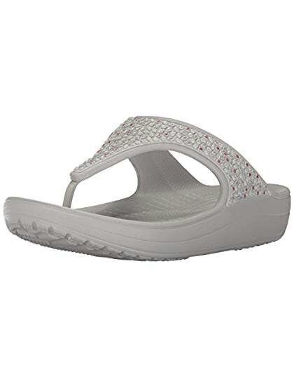 de6a25fbdbf0f Crocs@amazon | white flip flops | White flip flops, Sandals, Crocs