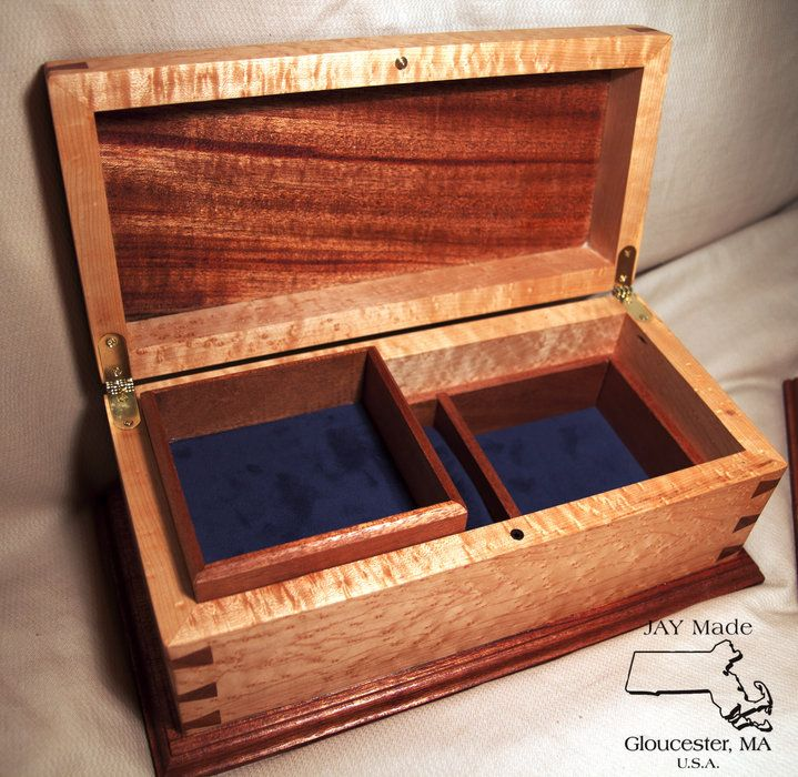 Jewelry Boxes - by JAY Made @ LumberJocks.com ~ woodworking community https://www.facebook.com/pages/Jay-Made/1498003673746683?ref=hl