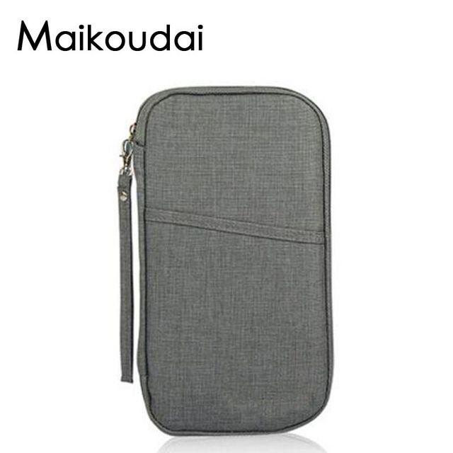0873d58ae1c Maikoudai Brand Travel Journey Document Organizer Wallet Passport ID Card  Holder Ticket Credit Card Bag Case List price  US  22.50 Price  US  12.38    FREE ...