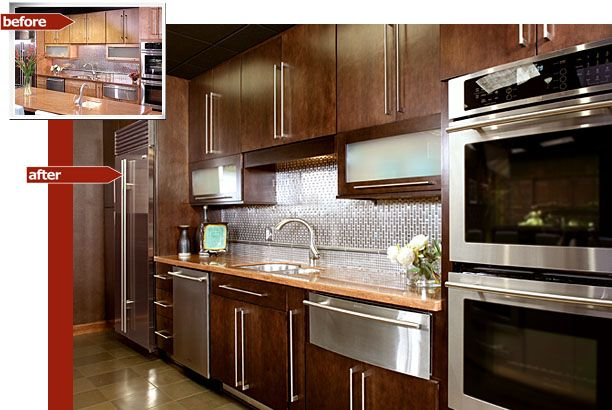 Best Contemporary Kitchen Cabinet Refacing Before And After 400 x 300