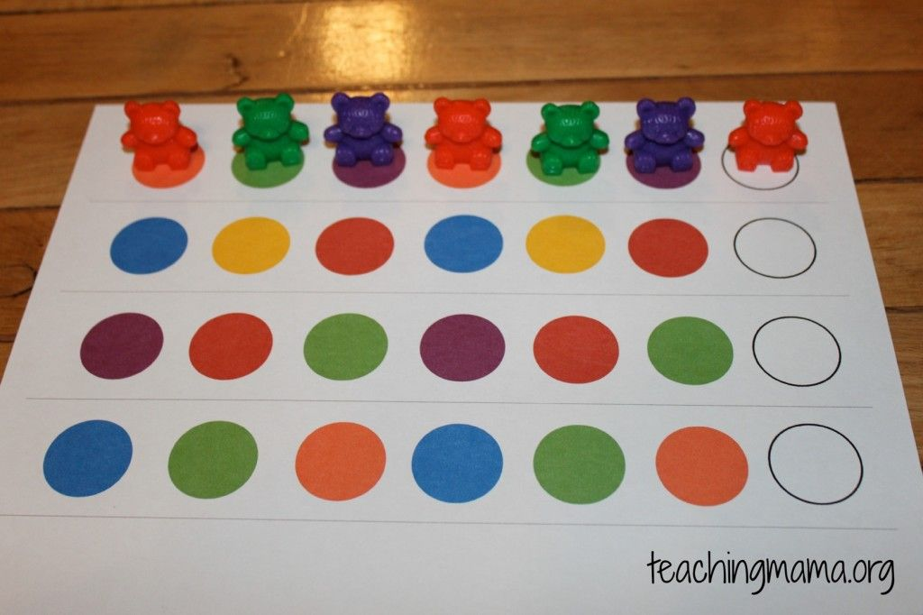 Hands-On Math Activities for Preschoolers | Math patterns ...