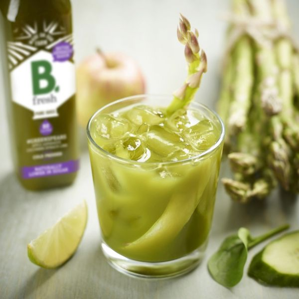 The NEW 'Supercharged' Green Asparagus Juice from B.fresh ...