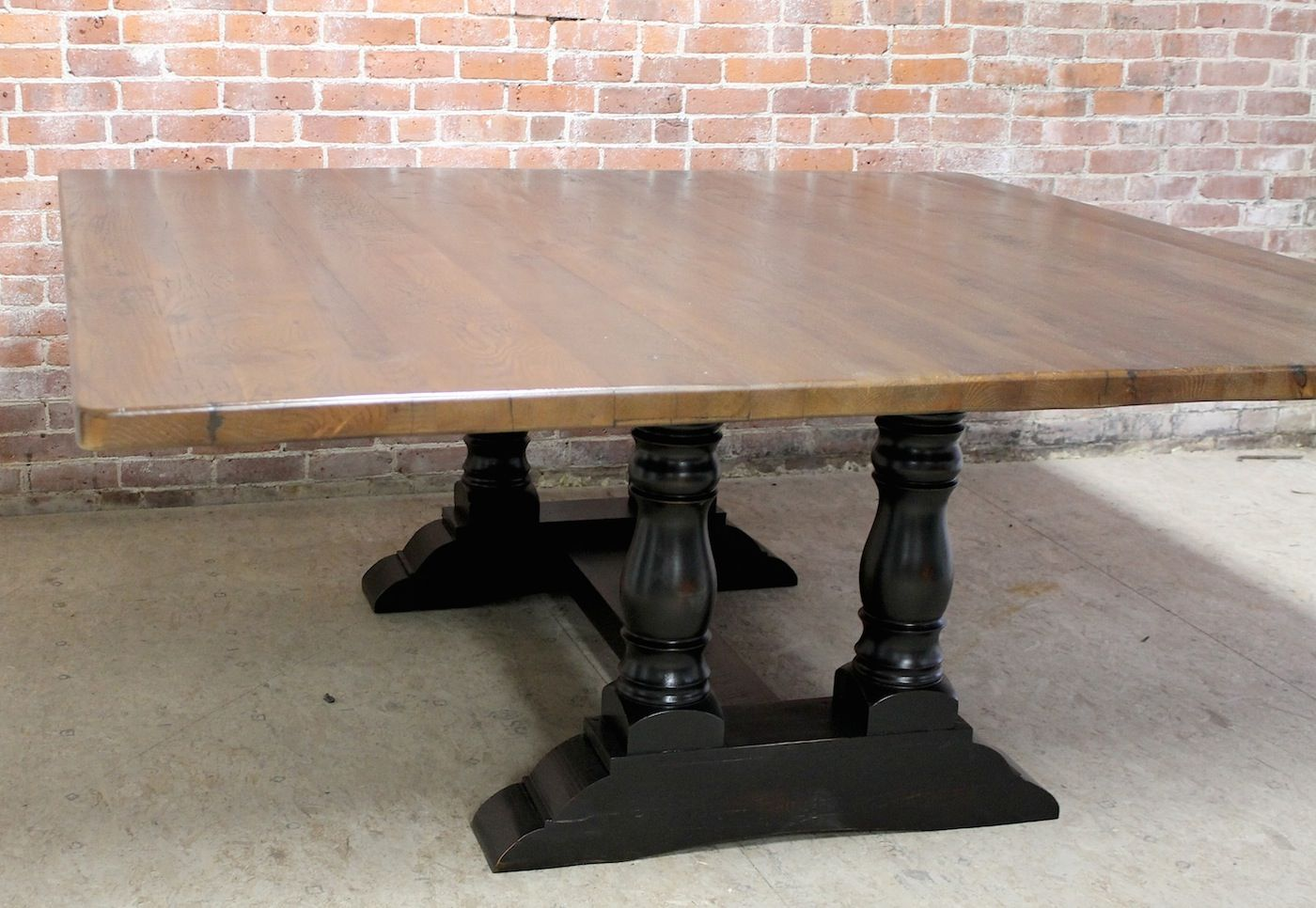Swell 78 Inch Square Table Made From Reclaimed Old Oak Hand Squirreltailoven Fun Painted Chair Ideas Images Squirreltailovenorg