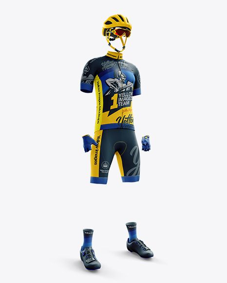 Download Download Men S Full Cycling Kit Psd Mockup Hero Shottemplate Cycling Kit Design Mockup Free Clothing Mockup