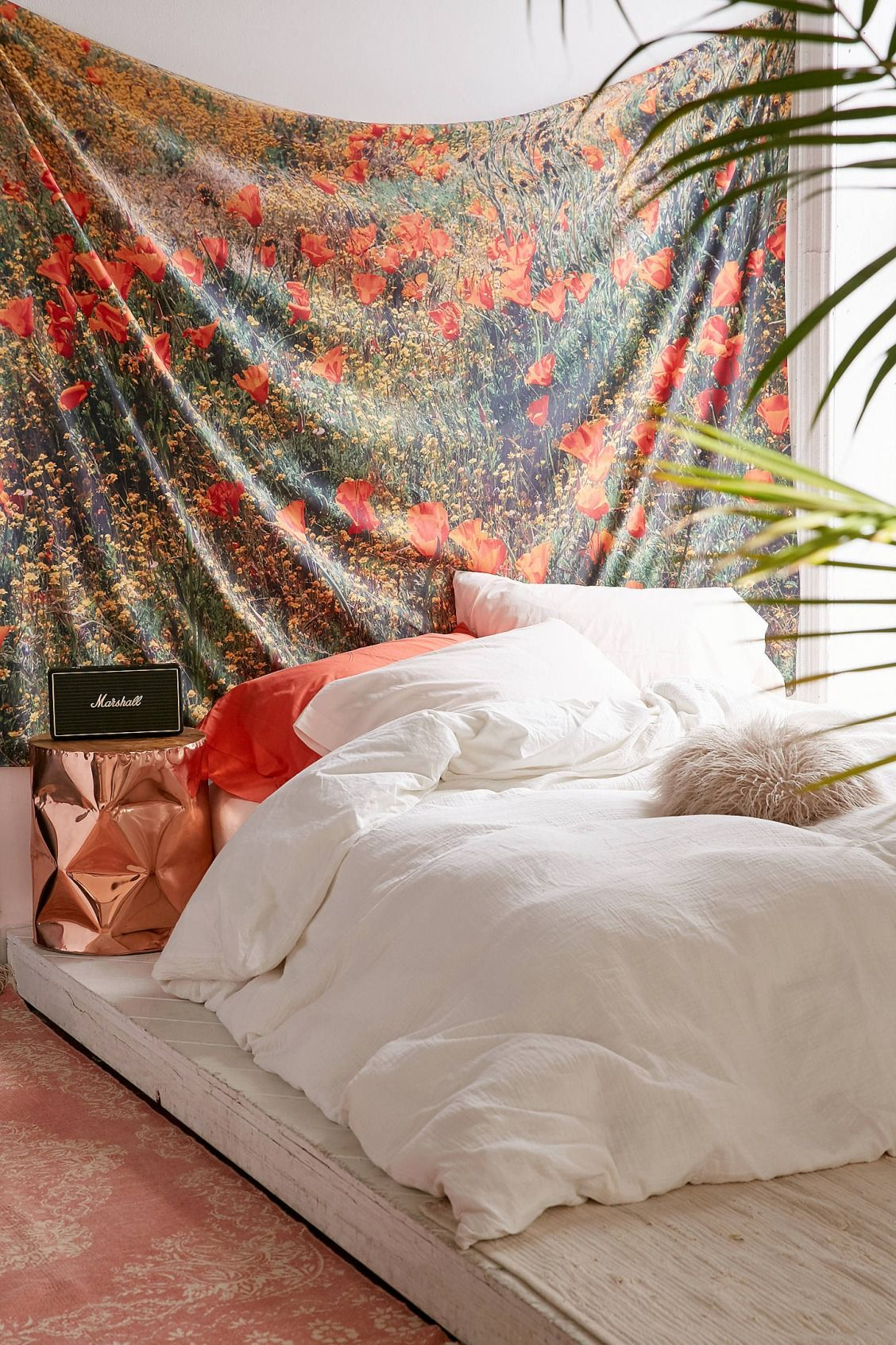 Bedroom Ideas Urban Outfitters Catherine Macdonald For Deny California Poppies Tapestry