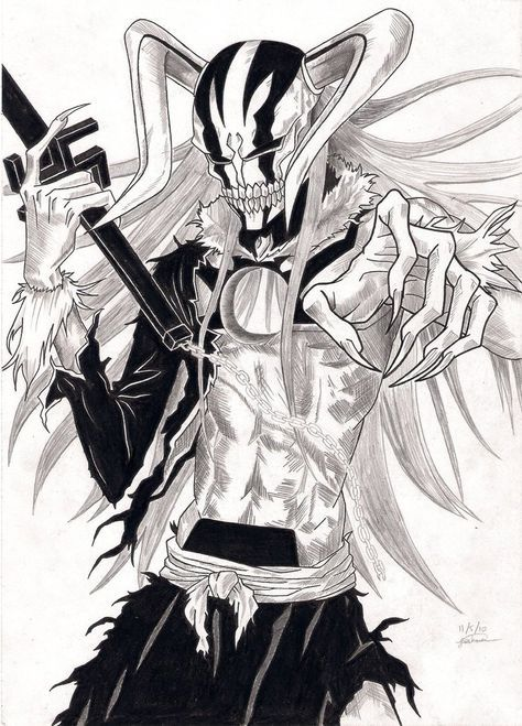 Ichigo_Hollow_Form_2_Sketch_by_jdgonline.jpg 758×1,054 pixels