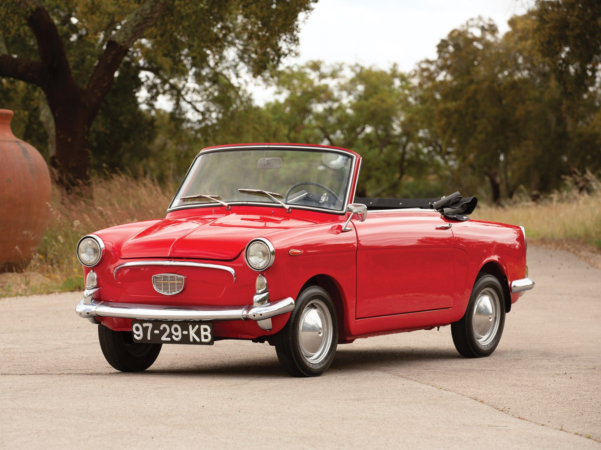 Based On The Humble Fiat 500 Autobianchi S Bianchina Cabriolet
