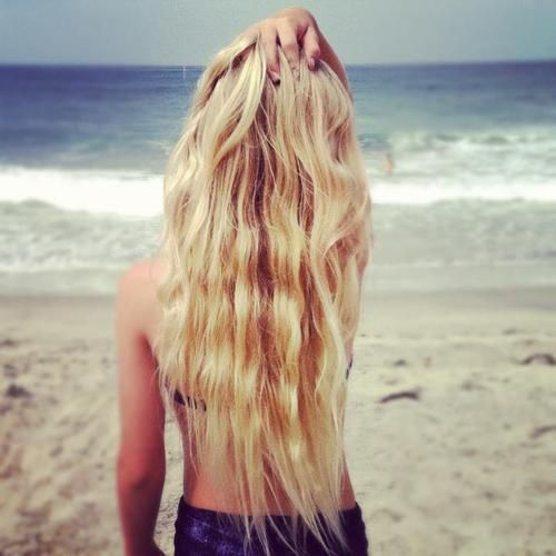 Peace Love Pretty Things | Hair! | Pinterest | Beach hair, Sea ...