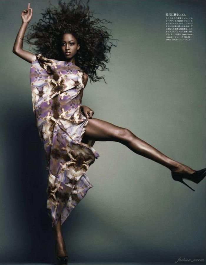 Nyasha Matohondze Vogue Japan November 2011