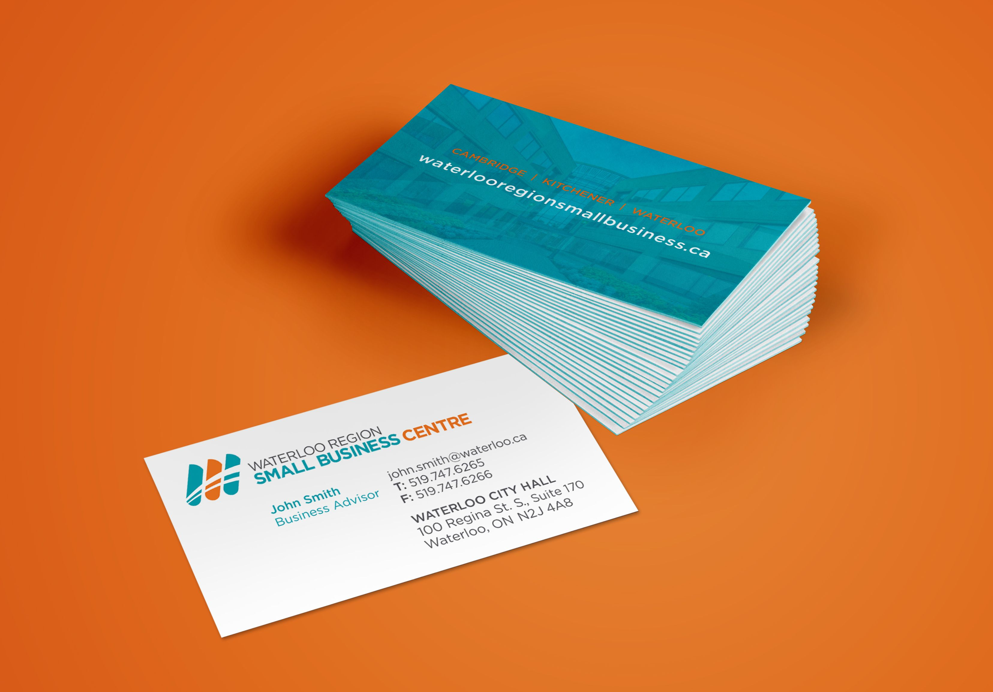 Waterloo Region Small Business Centre | Business Cards #cards #card ...