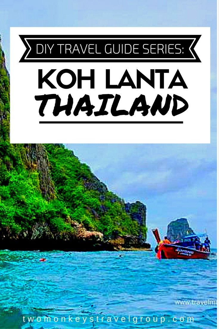 DIY Travel Guide Series Koh Lanta, Thailand anjibarra