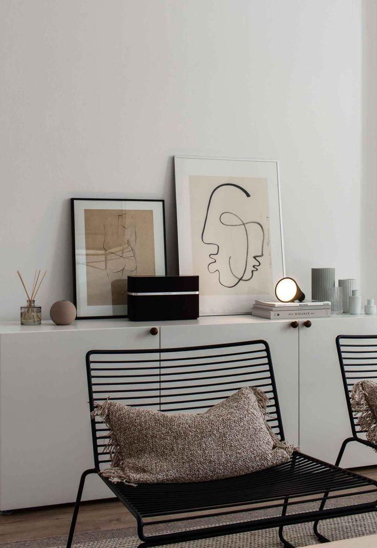 Modern boho home decor #style #boho #minimal