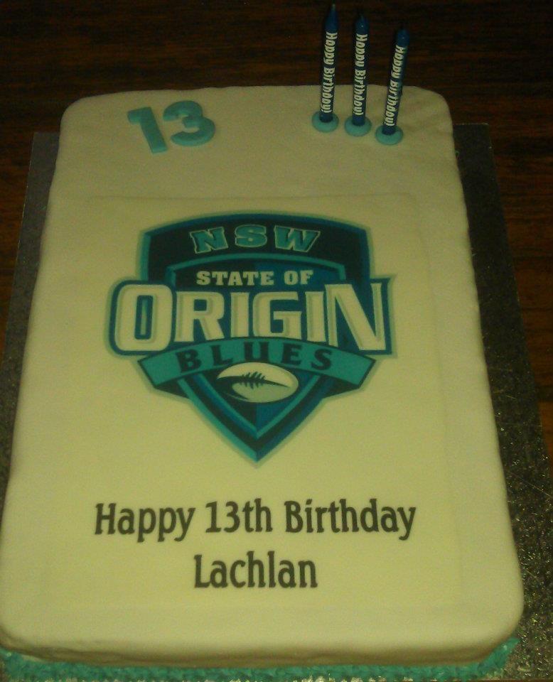 State Of Origin Cake My Cakes Pinterest Cake