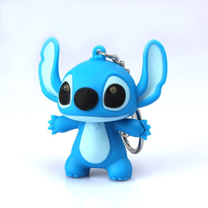 Disney Stitch Say I Love You Led Light Torch Keyring Key