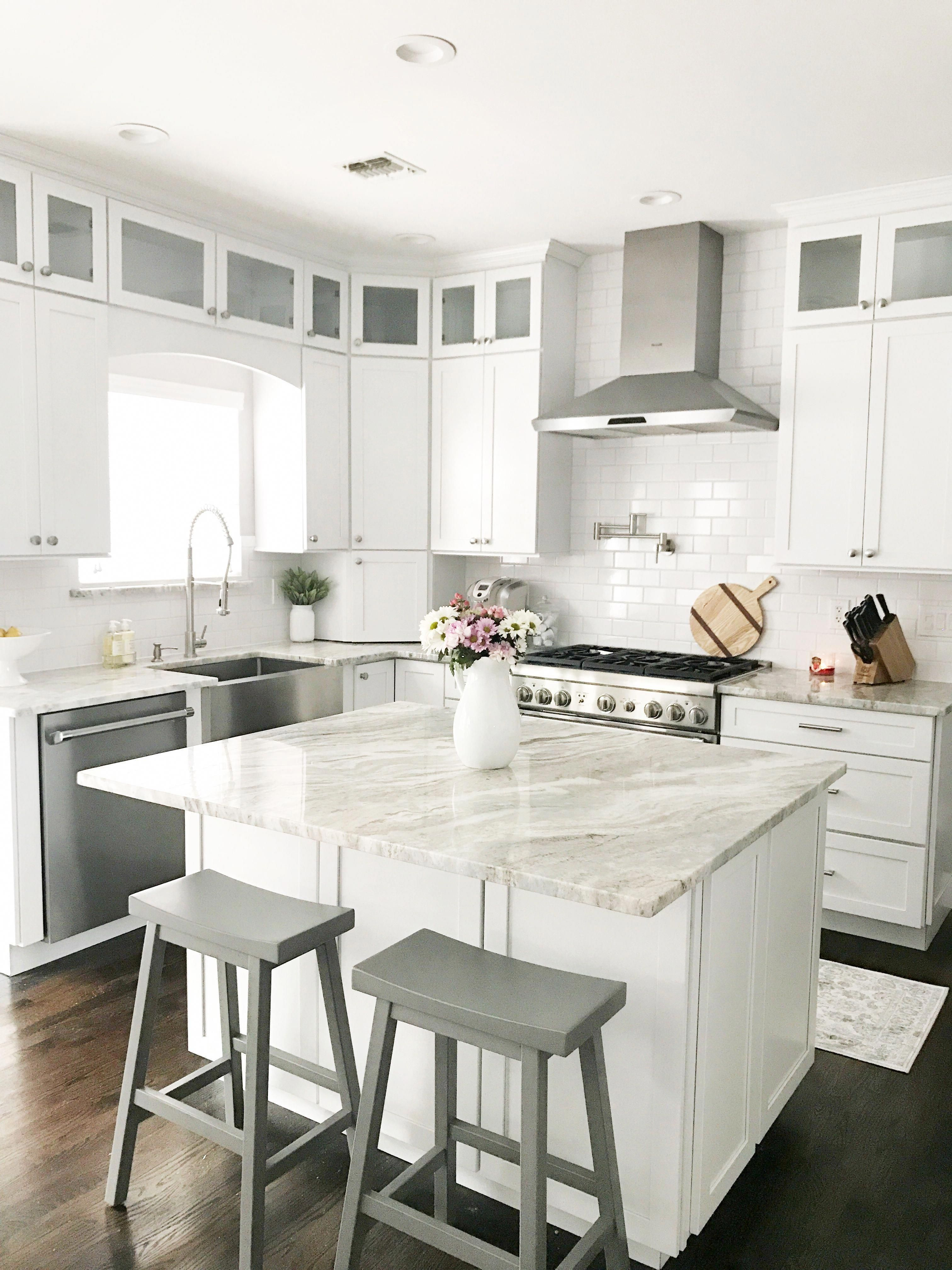 Looking for white shaker cabinet kitchen inspiration ...