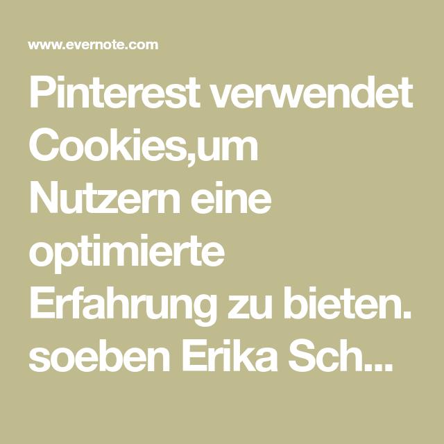 pinterest erfahrung verwendet cookies,um nutzern eine optimierte