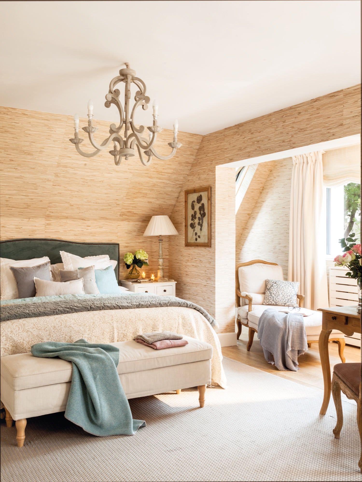 El dormitorio de los padres en 2019 dormitorios - Papeles pintados dormitorios ...