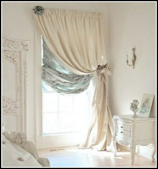 Shabby Chic Bedroom Curtains: Curtains For Small Windows In Bedroom