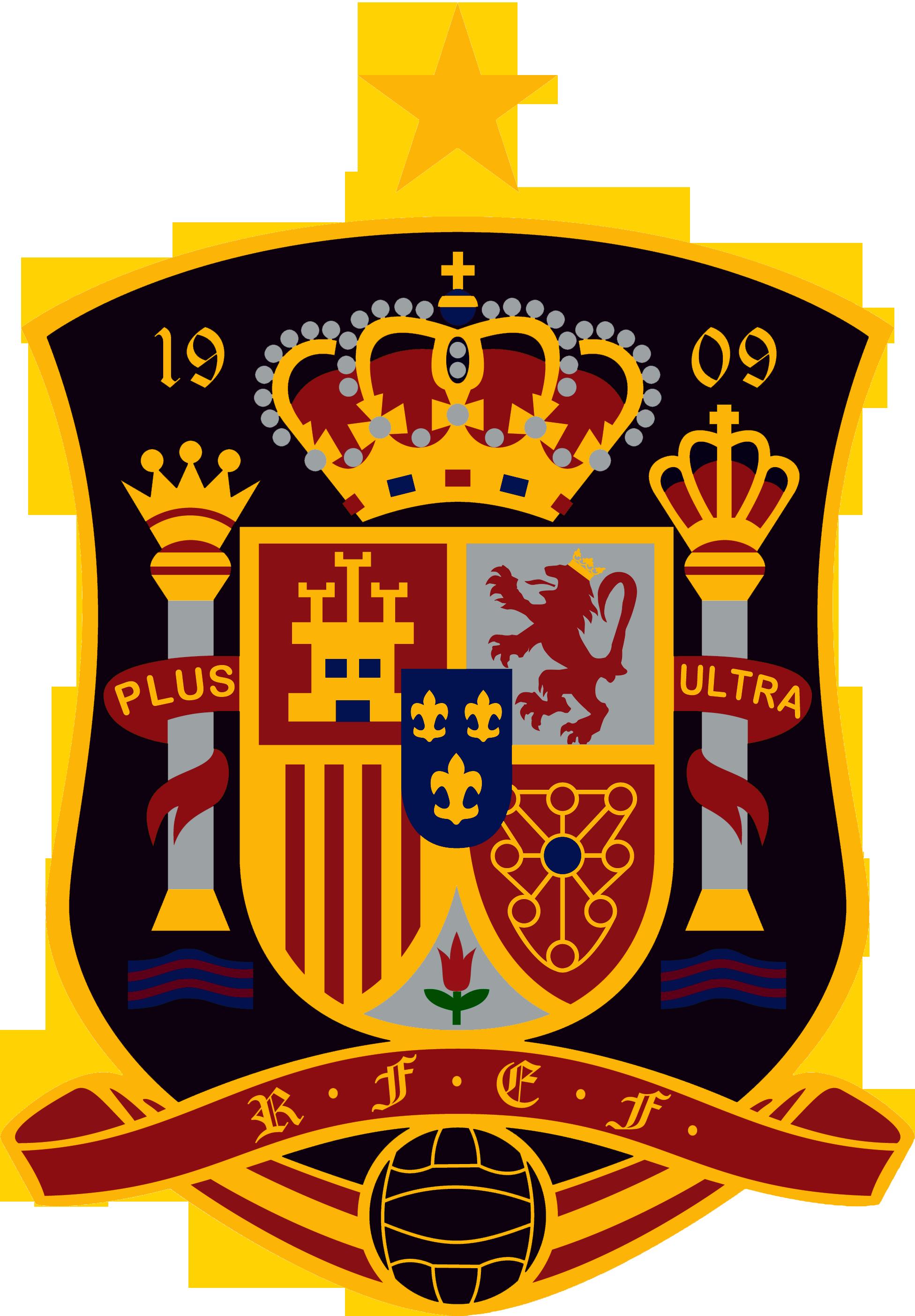 Resultado de imagen de ESCUDO SELECCION ESPAÑA