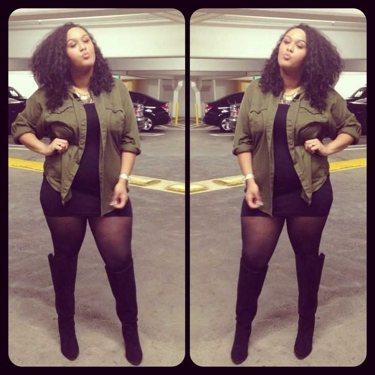 Pin by Dani Dixon-Young on fashion | Plus size going out outfits ...