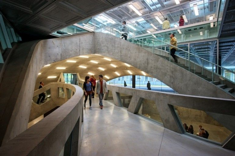 Milstein hall cornell university ithaca new york - Cornell university interior design program ...