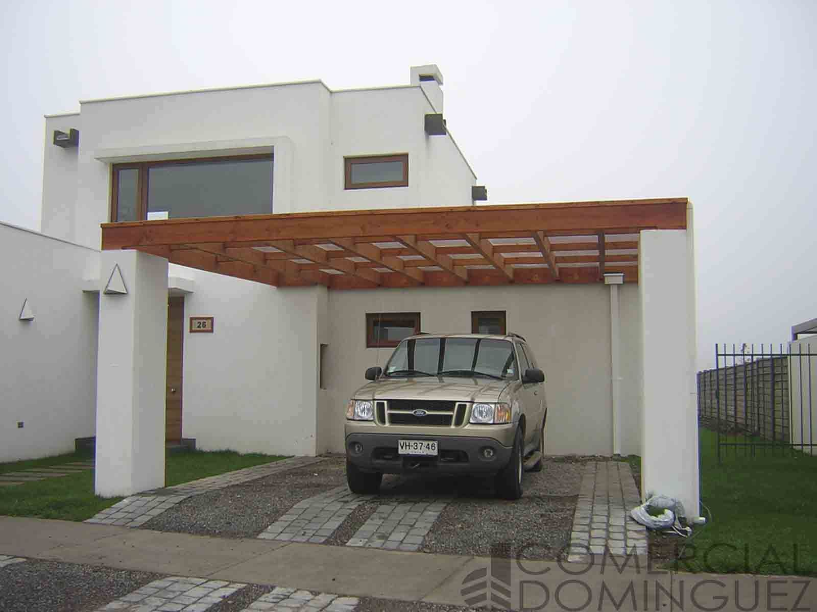 Pin by comercial dom nguez on cobertizos pinterest patios for Cobertizos de casas