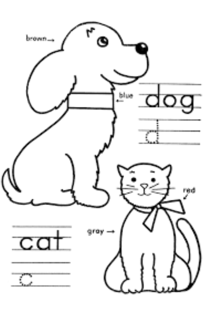Kindergarten Coloring Pages Learning Kindergarten Coloring Pages Coloring Pages Learning Colors