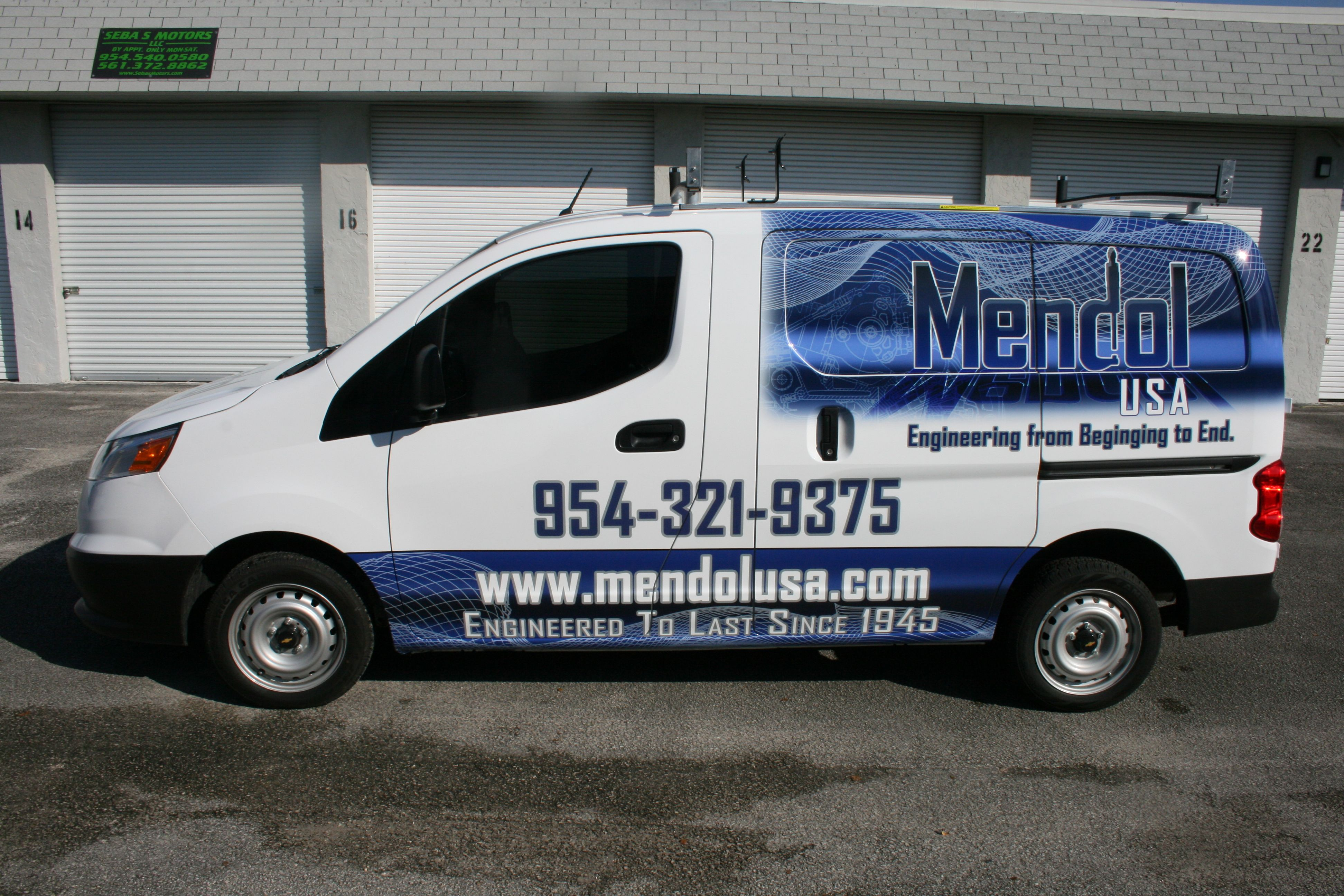 Comercial painting vehicle wrap for gemco painting in hollywood florida on nissan nv 1500 pinterest nissan and cars