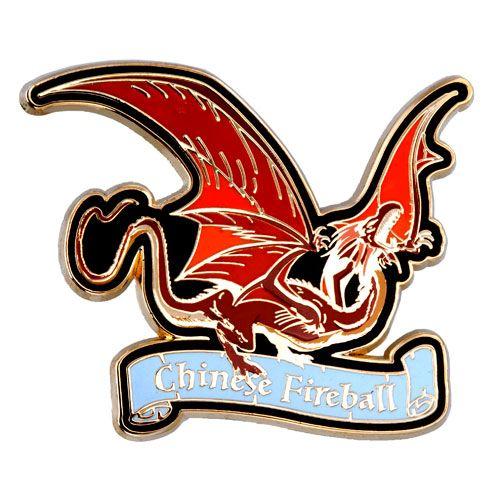 Chinese Fireball Dragon Pin