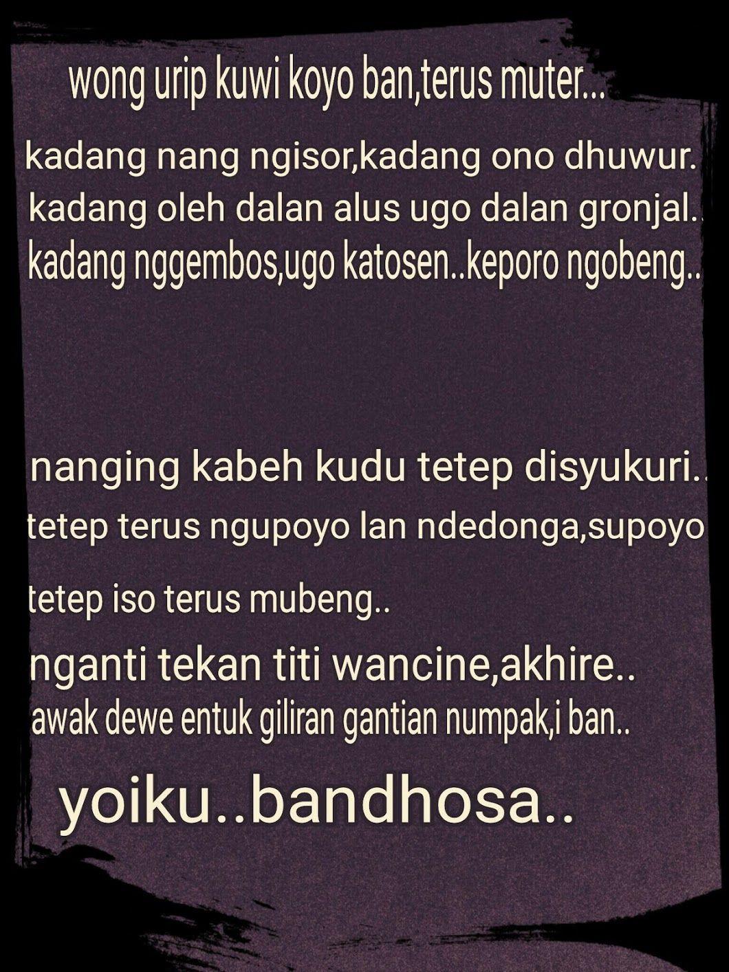 Kata Kata Cemburu Bahasa Jawa : cemburu, bahasa, Mutiara, Kakatabijak