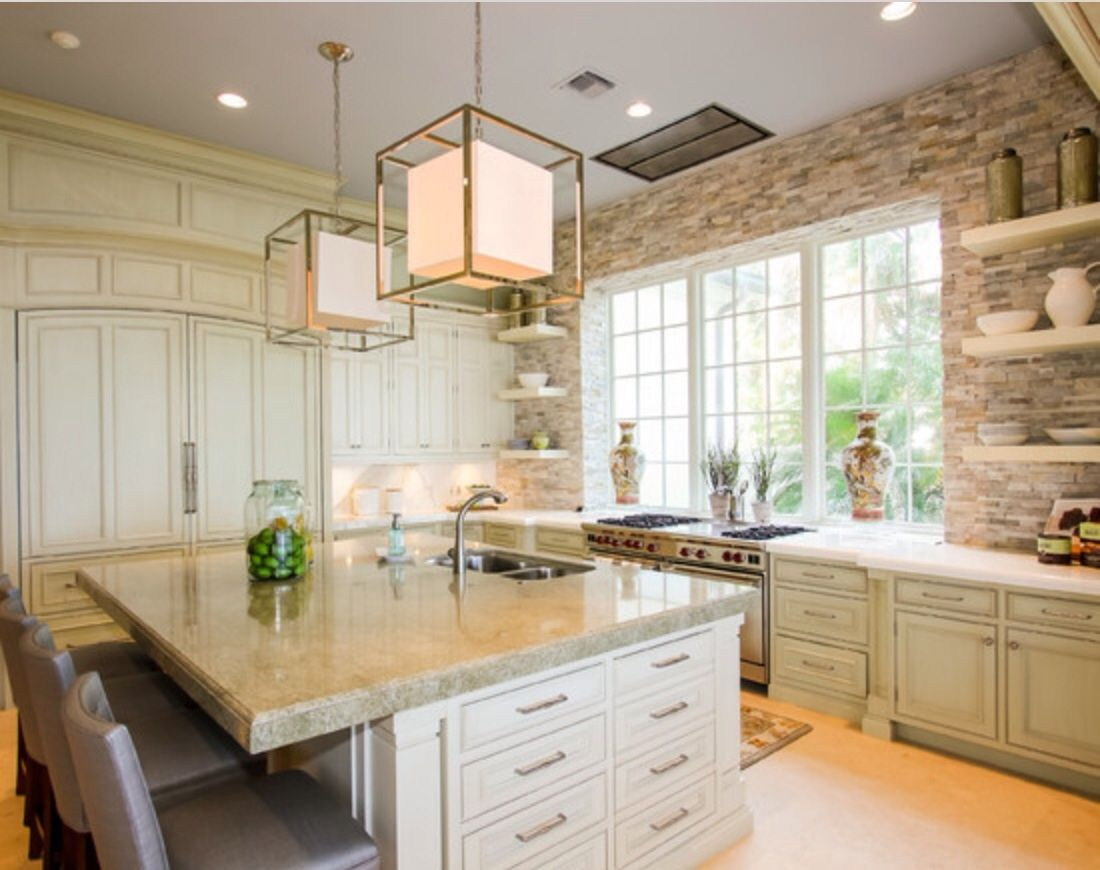 no upper cabinets on back wall make all glass with floor to ceiling cabinets on only on kitchen decor wall ideas id=44026