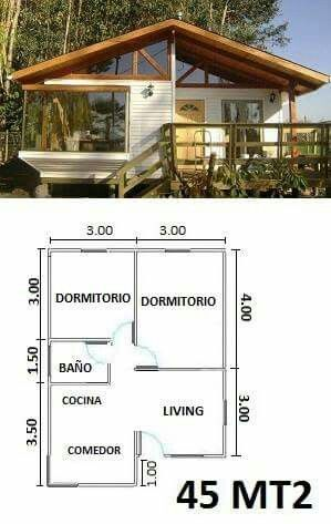 Opcao Casa Menor Planos De Casas Pequenas Planos De Casas Casas Prefabricadas